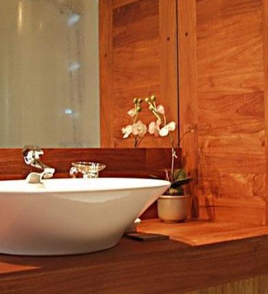 drewno w łazience 1