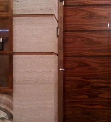 kamień naturalny w łazience 2