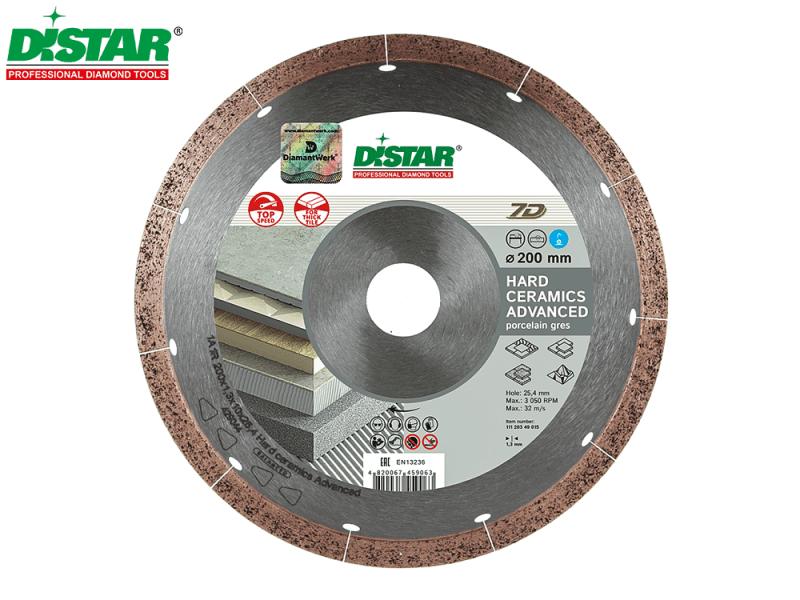 Tarcza diamentowa Distar Hard Ceramics Advanced