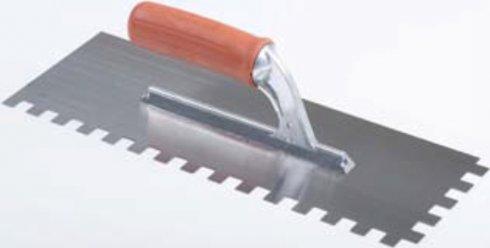 grzebien 28x12 zabek kwadratowy 12x12mm raczka gumowa raimondi