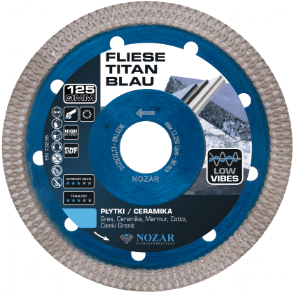PL2851767 - Fliese Titan Blau 125 mm 1123