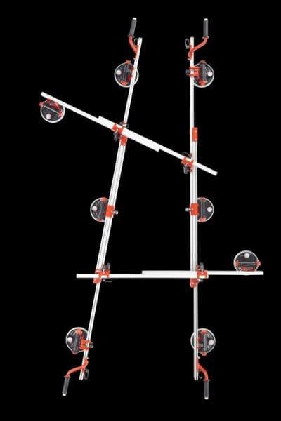 system do przenoszenia duzych plyt easy move adv mkiii z pompami prozniowymi i manometrami 2